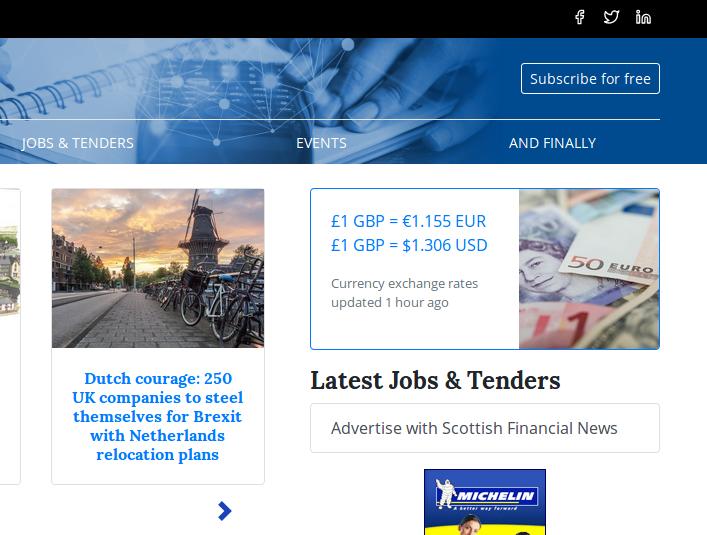 Scottish Financial News